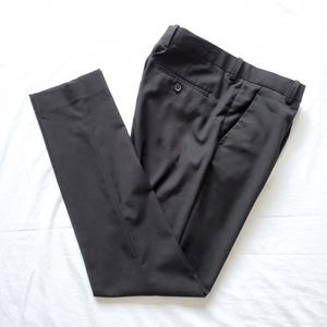 H&M Men's Black Suit Pants Slim Fit